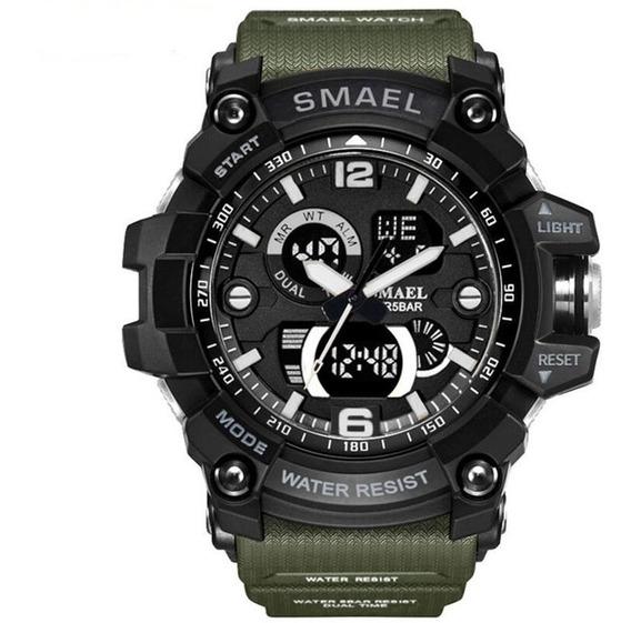 Relógio Smael Original Grande Militar Esporte Prova D