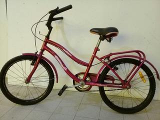Bicicleta De Niña Rod. 20
