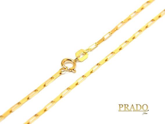 Corrente Masculina Maciça Cartier Em Ouro 18k