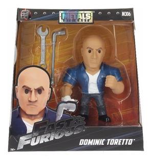 Muñeco Figura Metals Rápido Y Furioso Dominic Toretto Orig