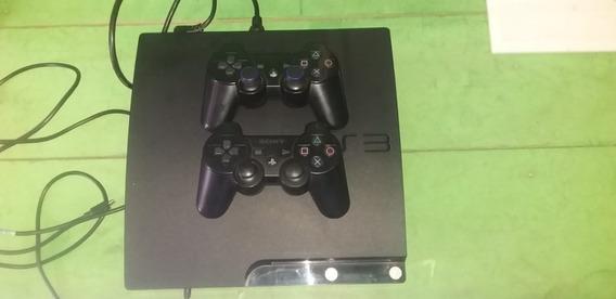 Playstation 3 Com 2 Controles + Kit Move Com 2 Armas E Jogos