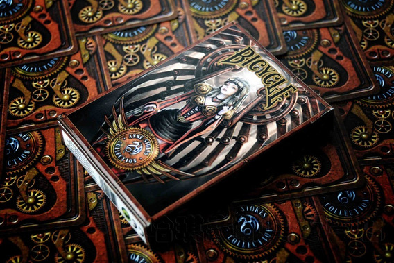 Baralho Bicycle Anne Stokes Steampunk Made In Usa Original