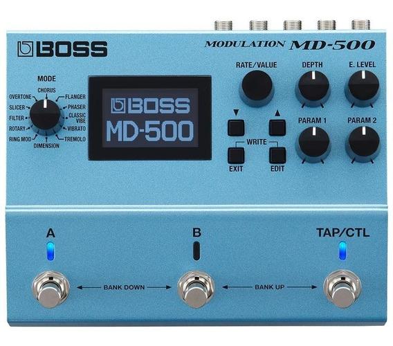 Pedal Boss Md-500 Guitarra Multi Efeitos Modulação Monster