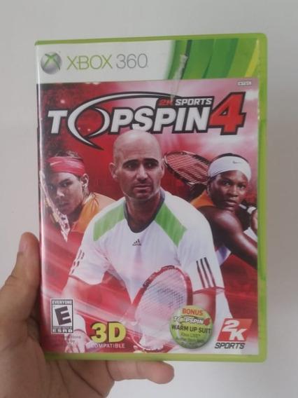 Topspin Top Spin 4 Original Em Mídia Física Para Xbox 360