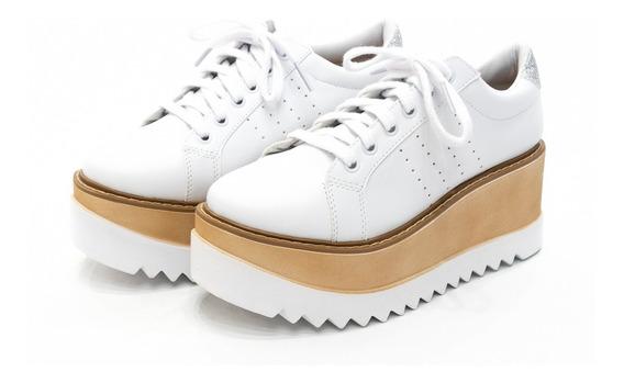 Zapatillas Sneakers Urbana Mujer Moda Plataforma Art 021