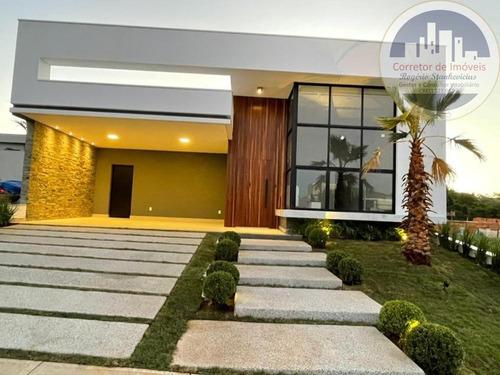 Imagem 1 de 30 de Excelente Casa No Condominio Jardim Residencial Maria Dulce Sendo 3 Suítes - Ca00083 - 69448768