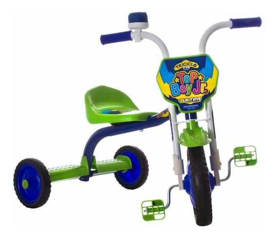 Triciclo Mini Bicicleta Infantil Menino Ultra Bike Verde