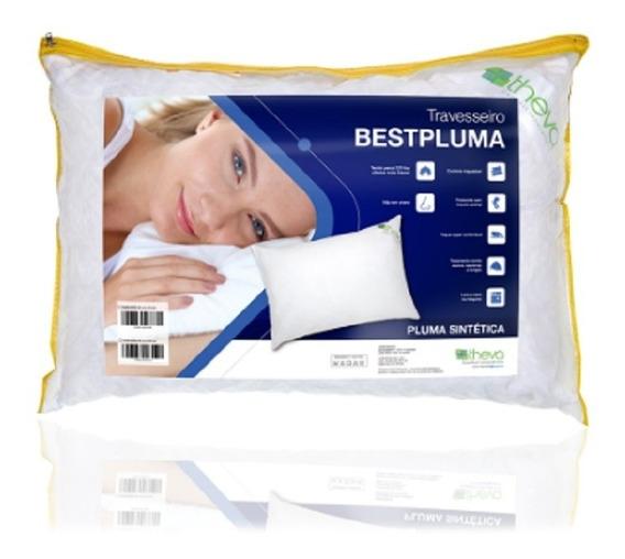 Travesseiro Pluma Sintética Bestpluma 50x90 Copespuma Theva