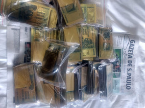1.000 Nota Zimbabue Gold Dib Relogio Carro Emprestar Moedajá