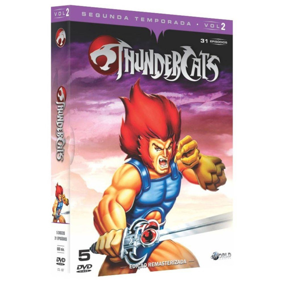 Box Original: Thundercats - 2ª Temporada Completa - 10 Dvd