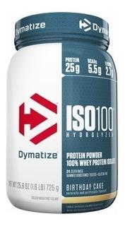 Whey Iso 100 Dymatize Hidrolizado E Isolado 725g - Promoção