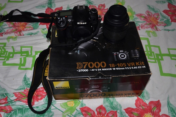 Camara Fotografica Nikon D7000 E Filmadora