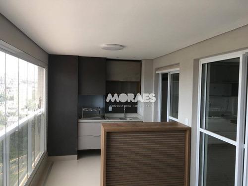 Imagem 1 de 30 de Apartamento Com 3 Suítes  À Venda, 120 M² Por R$ 976.000 - Vivaz Home Resort - Bauru/sp - Ap1904