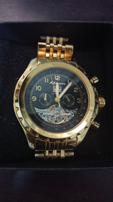 Relógio Alemão M. Johansson, Automático Chapeado À Ouro.