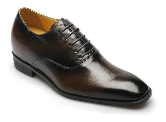 Vito Cafe Oscuro 7cm Zapato Formal Hombre