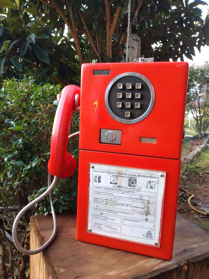 Telefone Público, Antigo Orelhão.