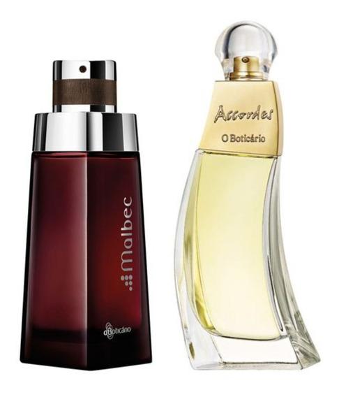 Perfume Malbec + Perfume Accordes Boticário