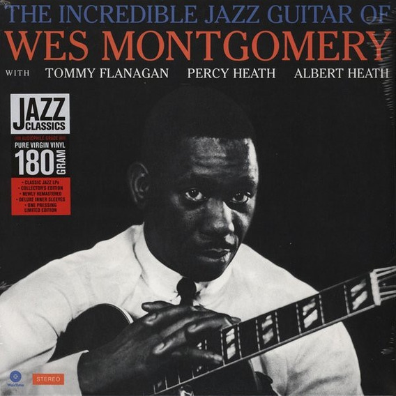 Lp Wes Montgomery - The Incredible Jazz Guitar Of
