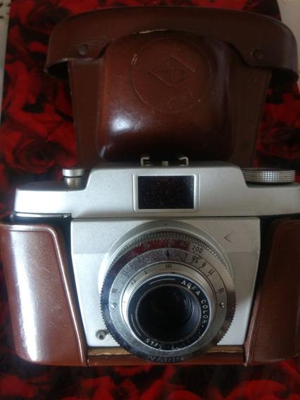 Câmera Fotográfica Analógica Agfa Raridade Bem Conservada
