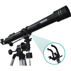 Telescópio Greika F90070eq Refrator Equatorial 900x70mm