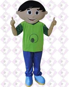 Fantasia Mascote Personagem Vivo Jupiter Show Da Luna