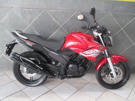 Yamaha Ys 250 Fazer Vermelha 2015