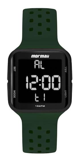 Relógio Unissex Mormaii Wave Digital Mo6600ac/8v 38mm Verde
