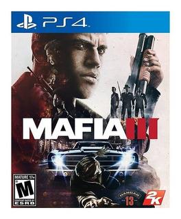 Mafia Iii Ps4 Fisico Nuevo Sellado