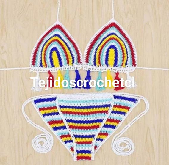 1c3d0806eff0 Bikinis Tejidos A Crochet - Vestuario y Calzado en Mercado Libre Chile