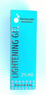 Farmacutan Lightening Gel 2% Despigmentante 30 Ml