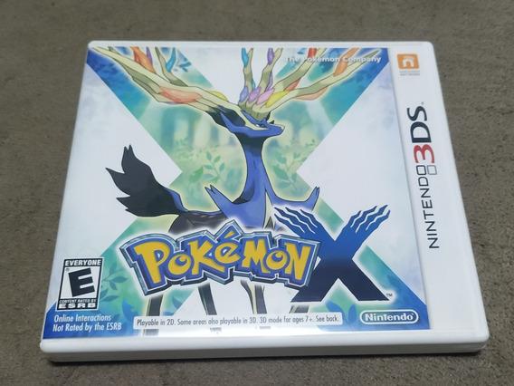 Pokemon X - Nintendo 3ds - Mídia Física