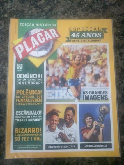 Revista Placar - Edição Histórica - Especial 45 Anos