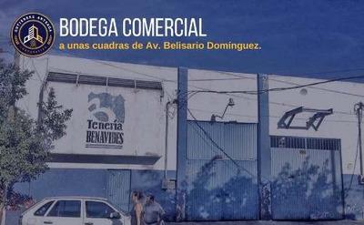Bodega Comercial A Unas Cuadras De Belisario Domínguez
