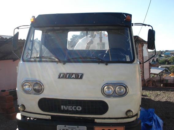 Caminhão Fiat Iveco 80 Tanque De Auto Vácuo E Pressão
