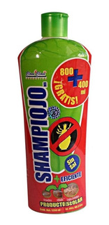Shampiojo Shampoo Y Tratamiento Piojos Y Liendres 1200 Ml.