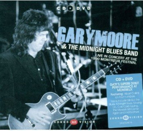 Cd : Moore,gary - Live In Concert At The 1990 Montreux...