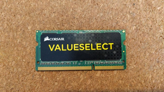 Memoria Corsair Ddr3 Sodimm 8gb 1600mhz Valueselect - Envios