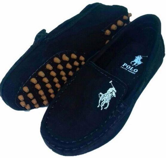 Sapato Infantil Masculino, Mocassim Confortável 100% Couro