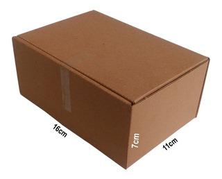 100 Caixas De Papelão 16x11x7 Correios Mercado Envios