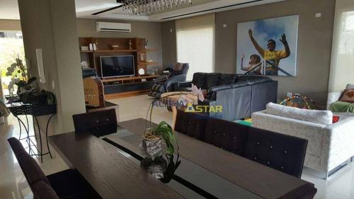 Imagem 1 de 24 de Casa Com 3 Dormitórios À Venda, 372 M² Por R$ 2.100.000,00 - Burle Marx - Santana De Parnaíba/sp - Ca3564