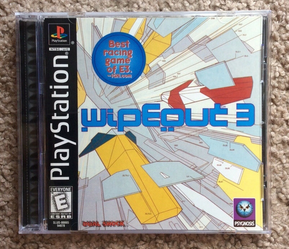 Ps1 - Wipeout 3 - Original Sem Riscos