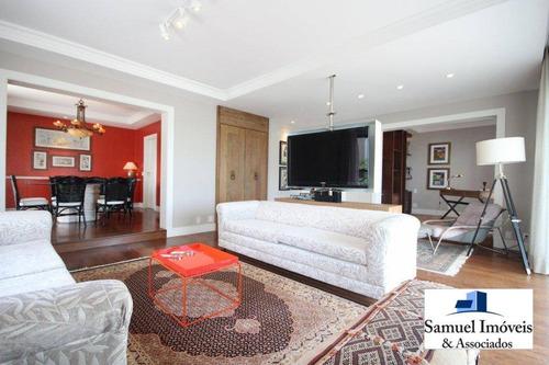 Imagem 1 de 19 de Apartamento Com 3 Dormitórios À Venda, 213 M² Por R$ 3.600.000,00 - Higienópolis - São Paulo/sp - Ap0557