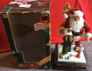 Navidad Santa En El Polo Norte