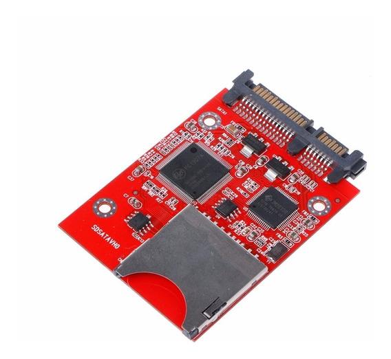 Conversor Sd Sdhc Secure Digital Mmc Para Sata - Original