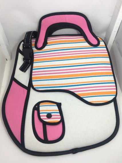 Mochila Porta Tablet No Shomishomi Unisex Antio Premium 3d