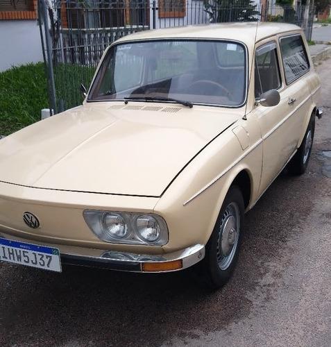 Volkswagen - Variant 1 1977 Bege Saara