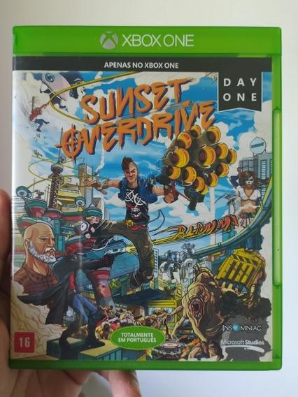 Jogo Sunset Overdrive Original Mídia Física Xbox One