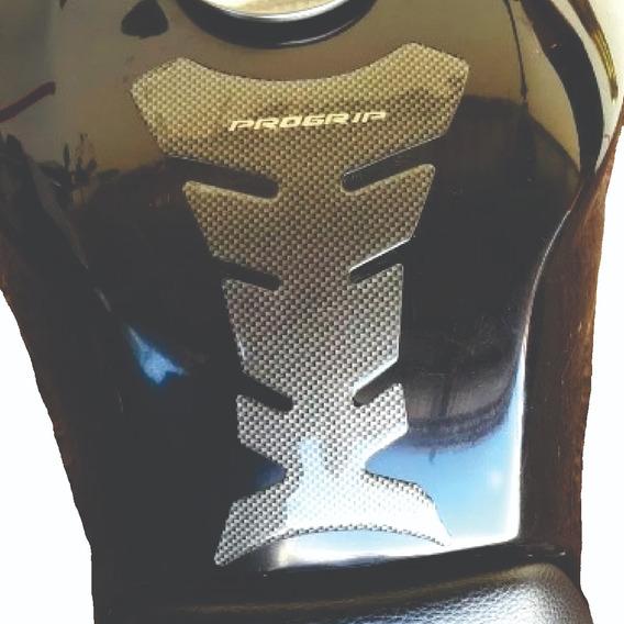 Protetor Tanque Progrip Carbon Modelo Resinado Para Motos