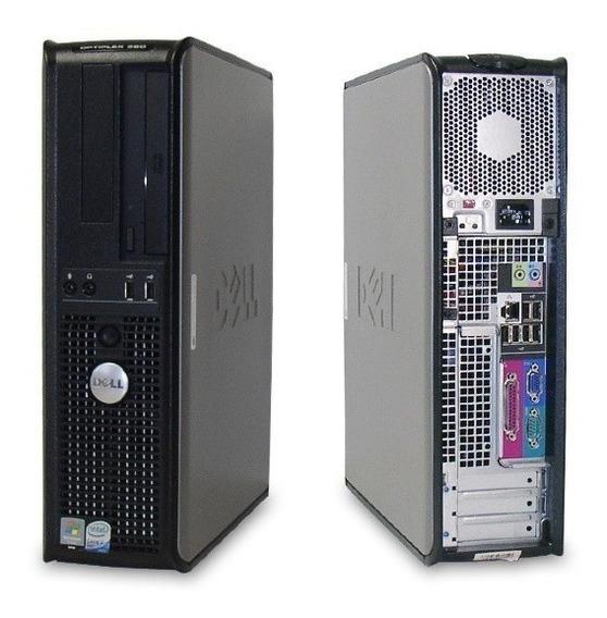 Promoção Cpu Dell Optiplex 360 /4gb Ram 500 Hd Top