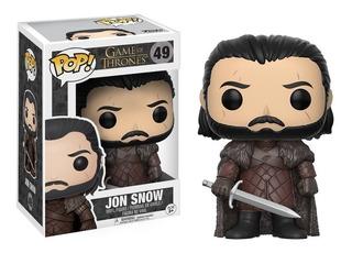 Figura Funko Pop Games Of Thrones Jon Snow #49